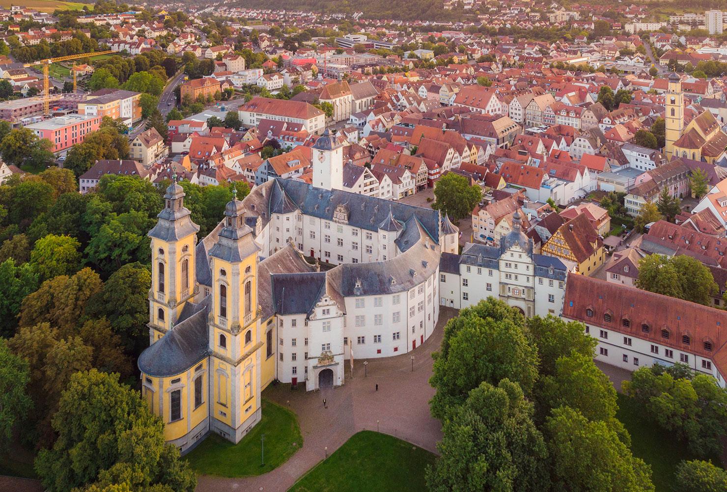Bad Mergentheim Deutschordenschloss Schlossgarten