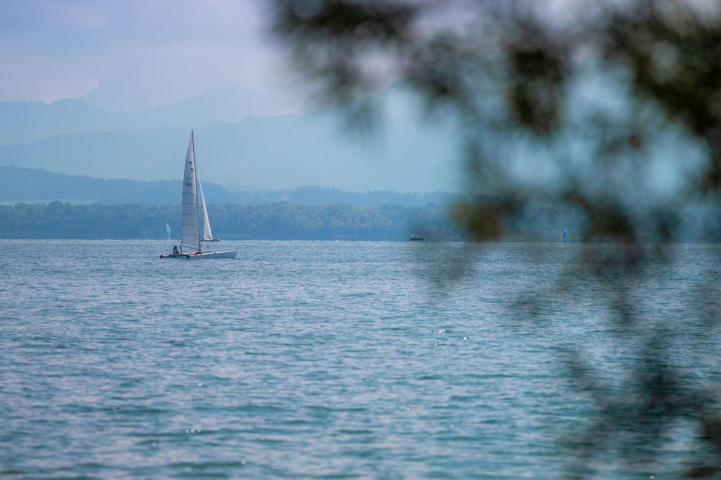 Chiemsee Segelboot