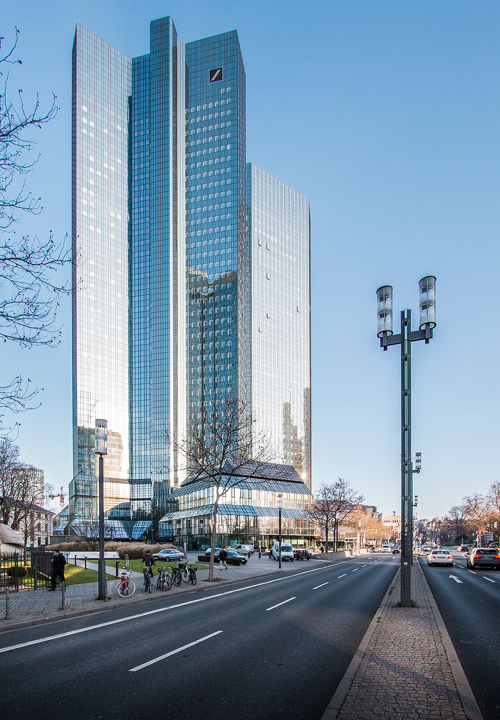 Deutsche Bank Frankfurt Winter