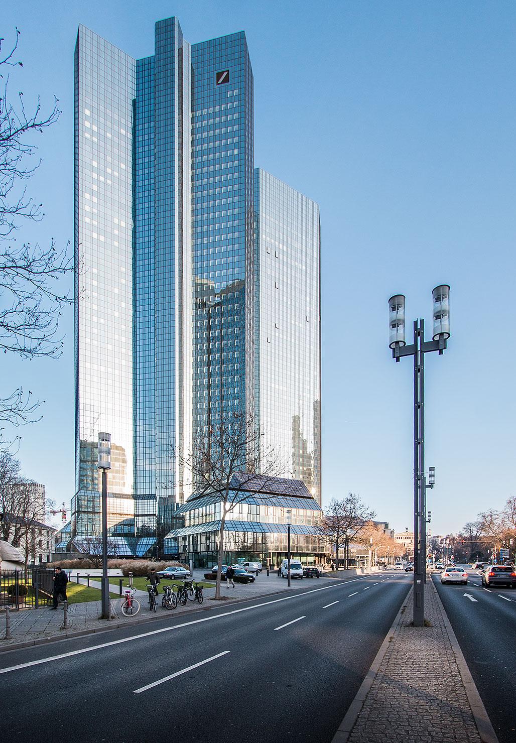 Deutsche Bank Frankfurt Winter
