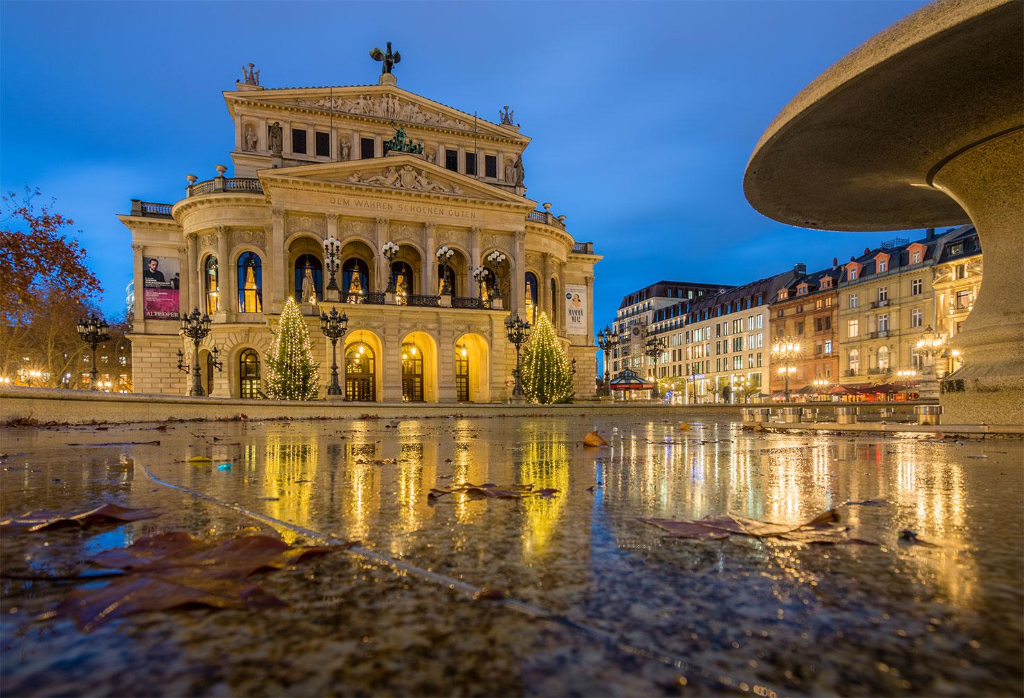 Frankfurt Alte Oper Weihnachten