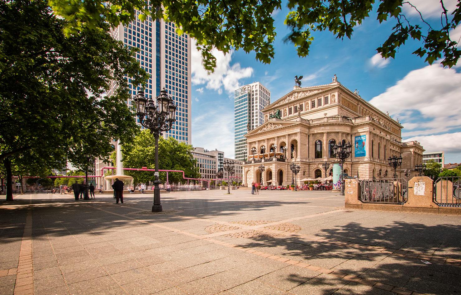 Frankfurt Opernplatz Alte Oper