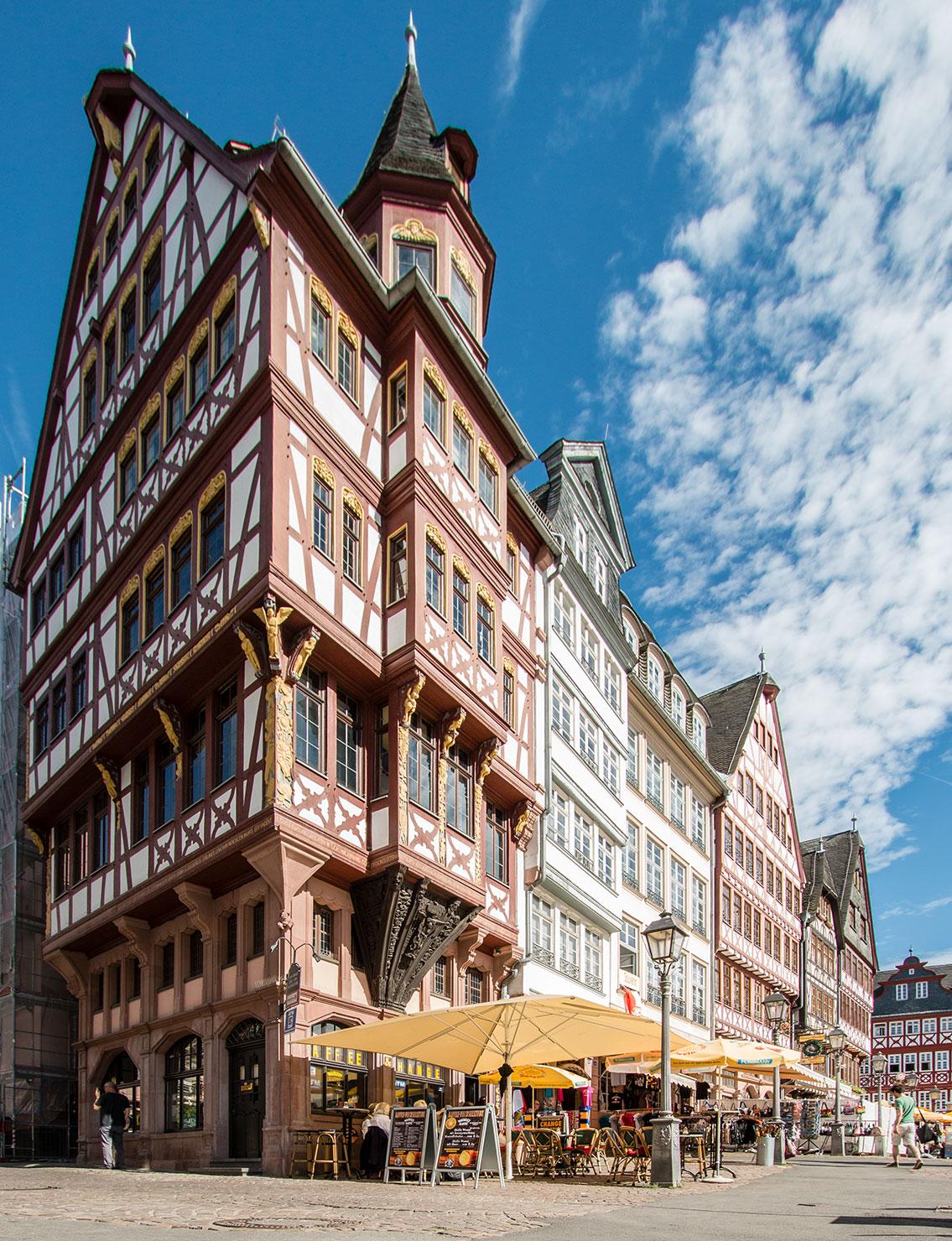 Frankfurt Römer Fachwerkhäuser