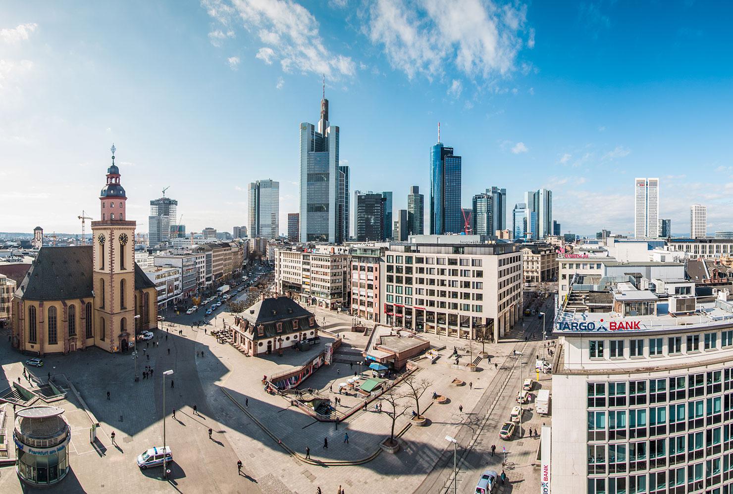 Skyline Frankfurt Hauptwache