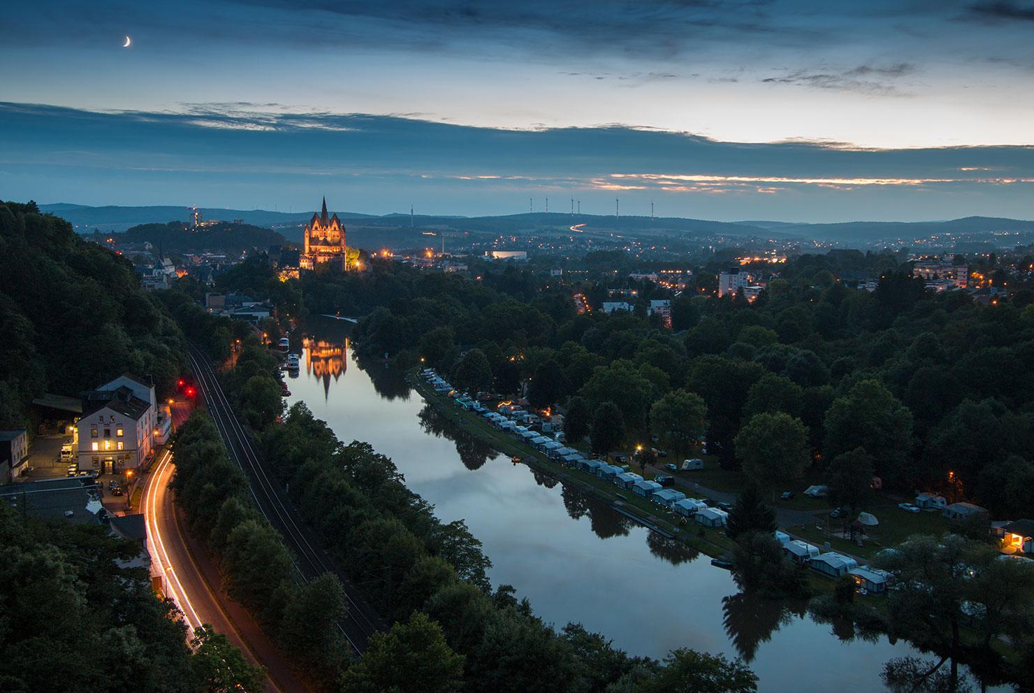 Limburg blaue Stunde
