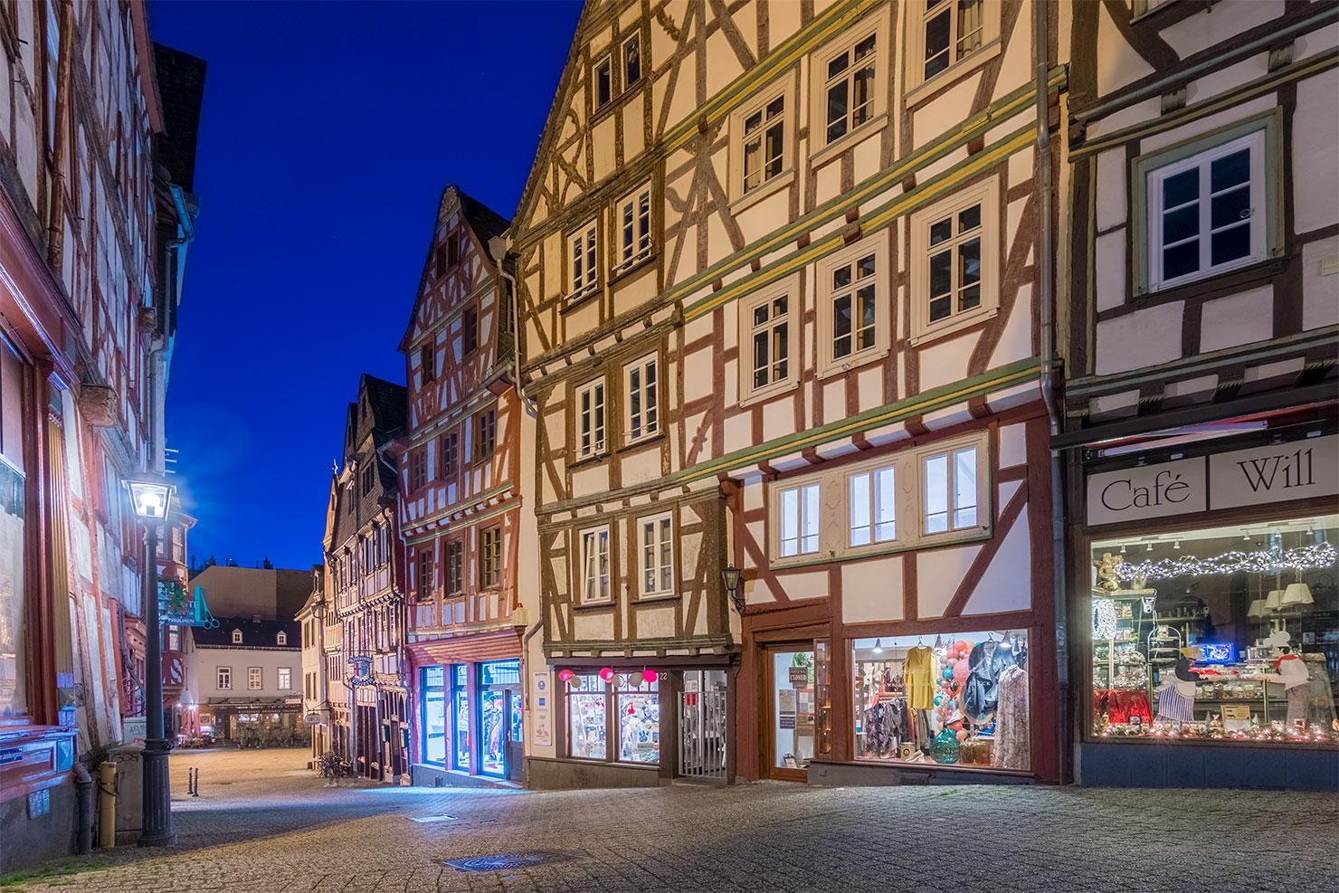 Limburg Lahn Fachwerkhäuser Altstadt Plötze