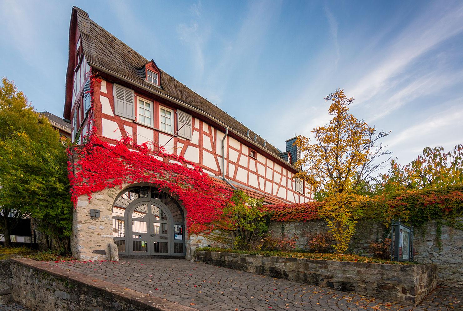 Limburg Lahn Diözesanmuseum Herbst