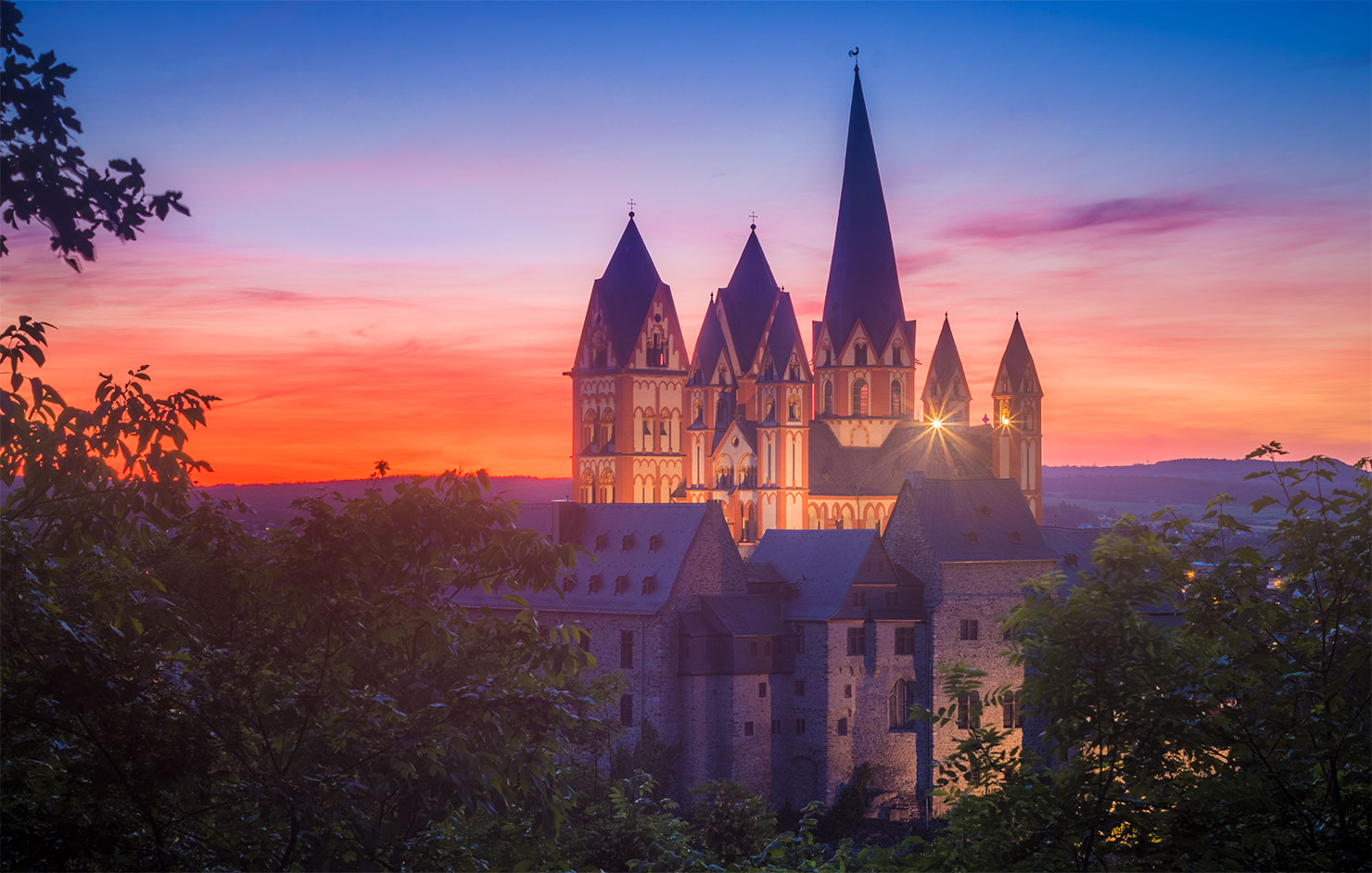 Limburg Lahn Greifenberg Sommer