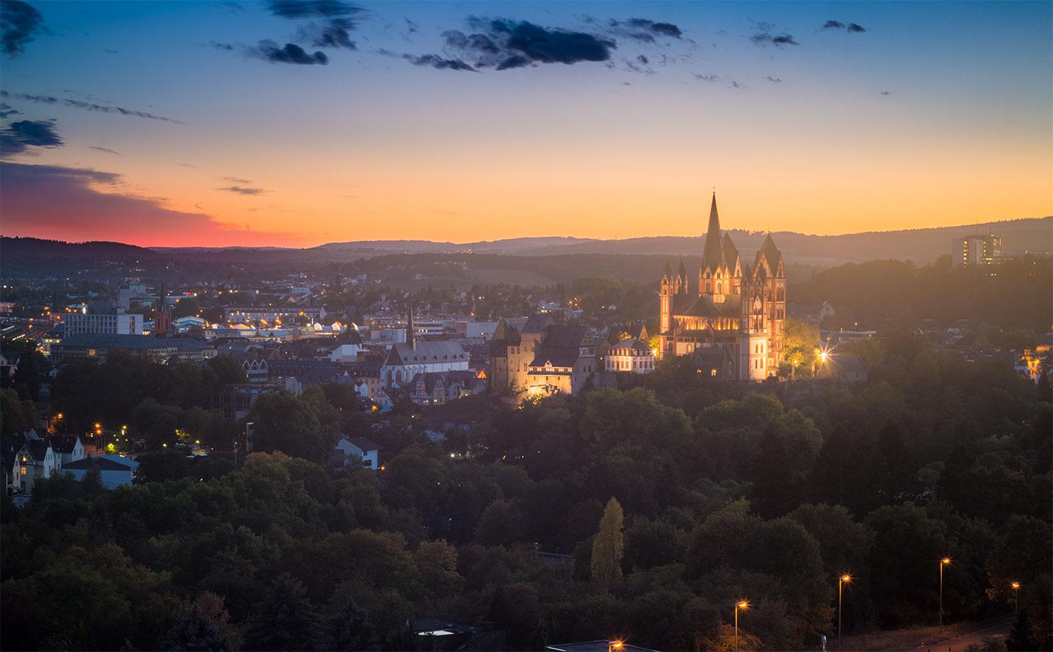 Limburg Sommer Sonnenuntergang