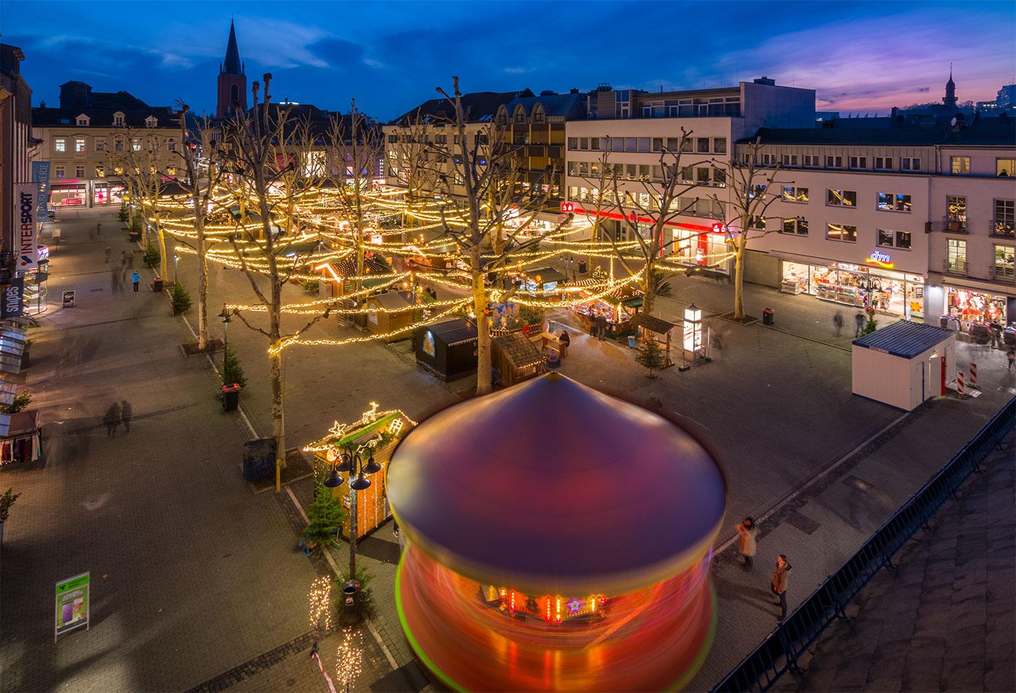 Limburg Neumarkt Weihnachtsmarkt