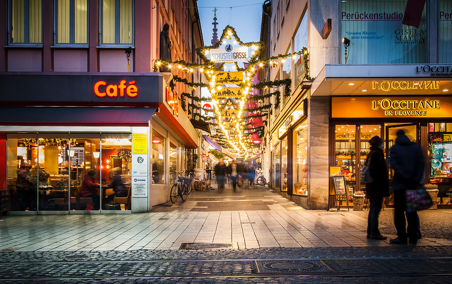 Schustergasse Würzburg Weihnachten