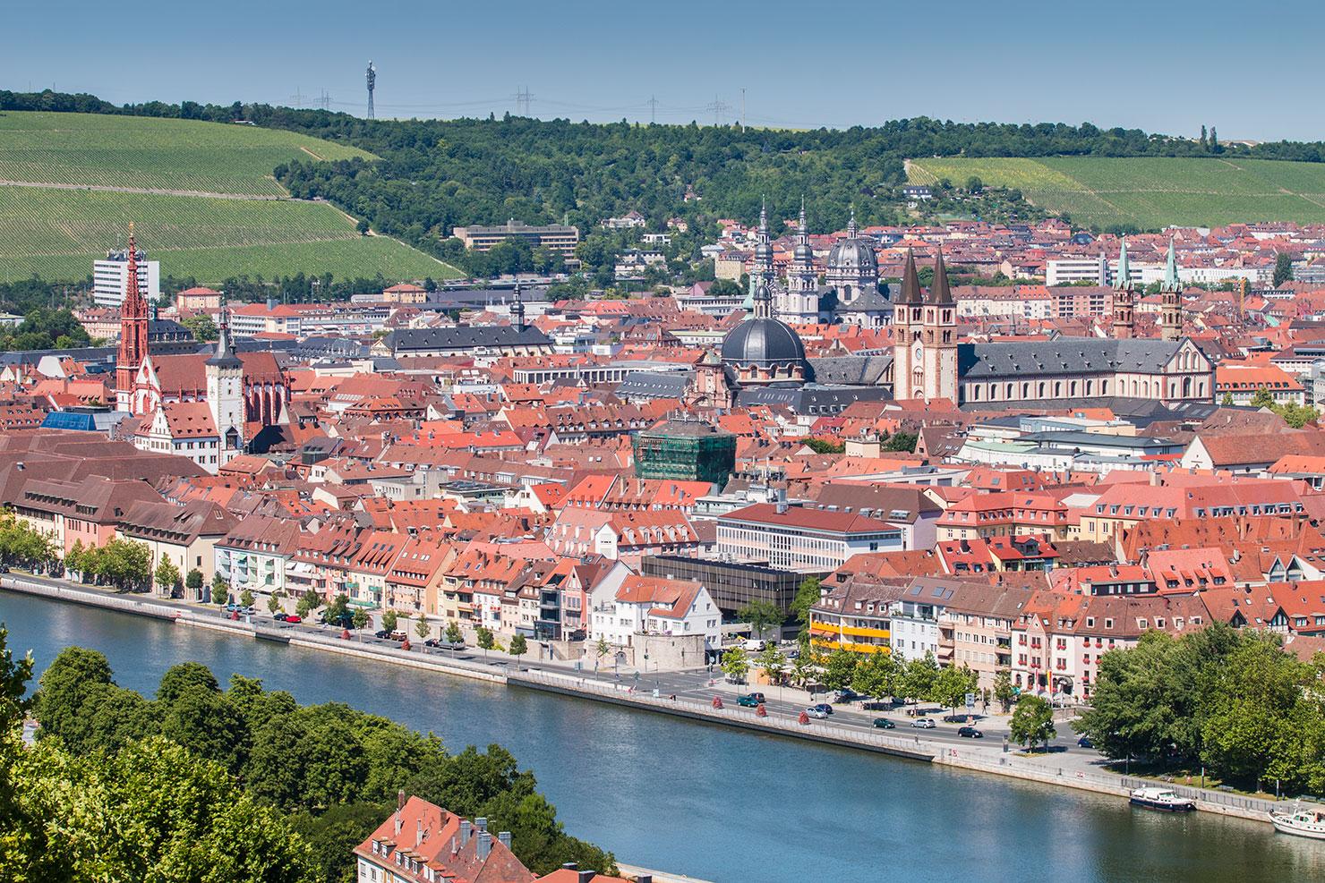 Würzburg Sommer
